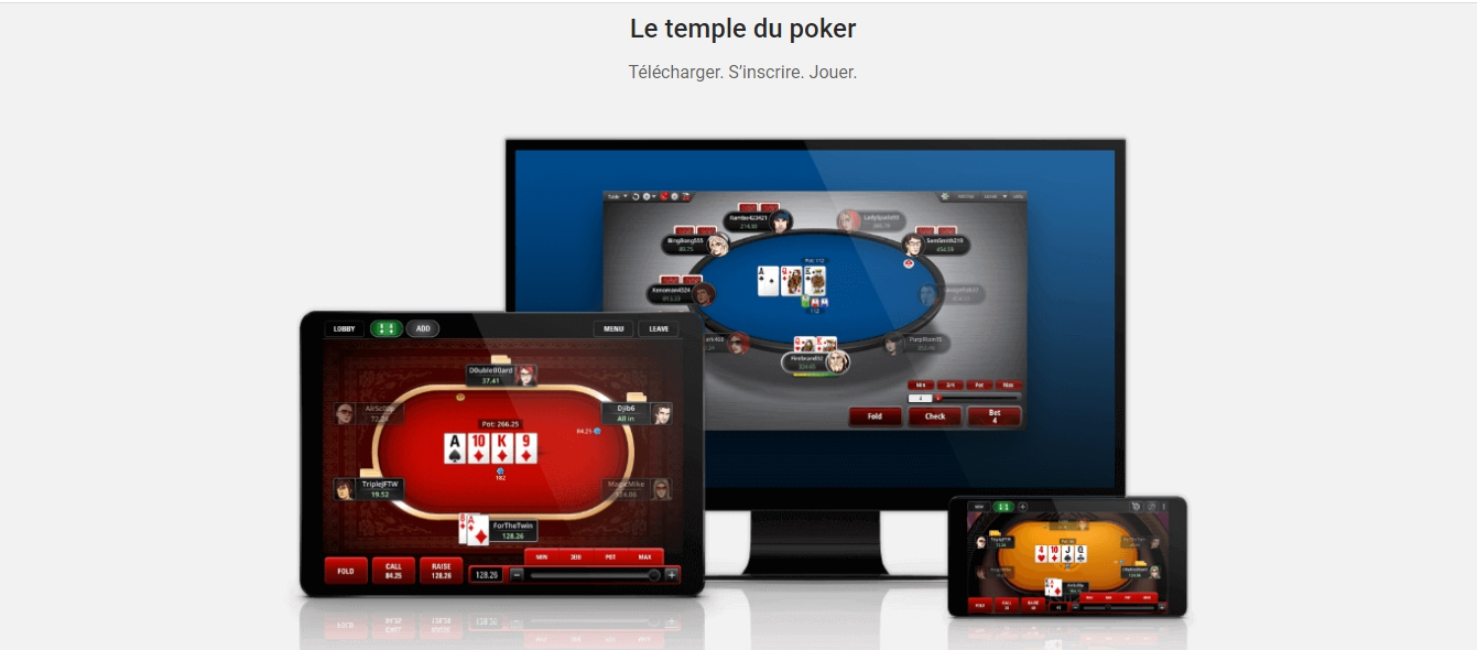 la section Betstars pokerstars
